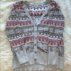 Mossimo Patterned Cardigan